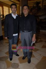 Karan Johar, Ronnie Screwvala ties up with UTV for distribution in J W Marriott on 9th March 2009 (4).JPG