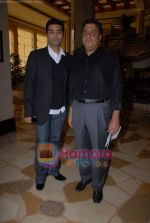 Karan Johar, Ronnie Screwvala ties up with UTV for distribution in J W Marriott on 9th March 2009 (6).JPG