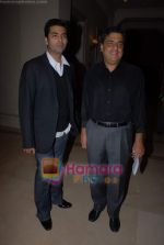 Karan Johar, Ronnie Screwvala ties up with UTV for distribution in J W Marriott on 9th March 2009 (8).JPG