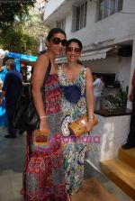 Mehr Rampal with Bhavana Pandey at the celebration of Rock in Olive on 9th March 2009.JPG