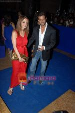 Hrithik Roshan, Suzanne Khan at Shilpa Shetty_s Rajasthan Royals bash in Grand Hyatt on 10th March 2009 (11).JPG