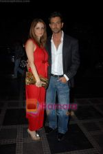 Hrithik Roshan, Suzanne Khan at Shilpa Shetty_s Rajasthan Royals bash in Grand Hyatt on 10th March 2009 (2).JPG