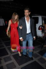 Hrithik Roshan, Suzanne Khan at Shilpa Shetty_s Rajasthan Royals bash in Grand Hyatt on 10th March 2009 (3).JPG