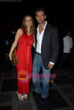 Hrithik Roshan, Suzanne Khan at Shilpa Shetty_s Rajasthan Royals bash in Grand Hyatt on 10th March 2009 (5).JPG