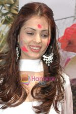 Anjana Sukhani at Holi Celebration in Country Club_s Spring Club in Kandivali Mumbai on 11th March 2009 (5).JPG