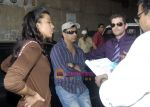 Madhur Bhandarkar, Neil Nitin Mukesh, Mugdha Godse at Mahurat shot of film Jail in Mumbai on 12th March 2009.JPG