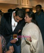 Abhishek and Jaya Bachchan at Harmony Exhibition in Jehangir Art Gallery, Mumbai on 13th March 2009 (21).jpg