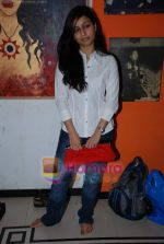 Neha Yadav at Music Therapy workshop in Abu Malik Studio, Andheri on 16th March 2009 (6).JPG