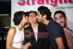 Gul Panag, Vinay Pathak, Siddharth Makkar at the Premiere of Straight in Fame on 19th March 2009 (16).JPG