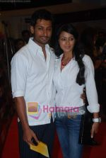 Indraneil Sengupta, Barkha Bisht at the Premiere of Aloo Chaat in PVR, Juhu on 19th March 2009 (2).JPG