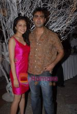 Ranvir Shorey, Geetanjali Thapa at the completion party of film Tina Ki Chabi in Sun N Sand on 20th March 2009 (2).JPG