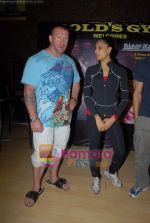 Bipasha Basu, Dorian Yates at Gold Gym event in Bandra on 23rd March 2009 (5).JPG