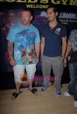 Dino Morea, Darian Yates at Gold Gym event in Bandra on 23rd March 2009 (6).JPG