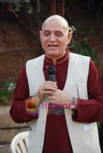 Dr Madan Kataria of Laughter Club at Sab Tv event in Country Club on 23rd March 2009 (13).JPG