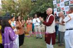 Dr Madan Kataria of Laughter Club at Sab Tv event in Country Club on 23rd March 2009 (3).JPG
