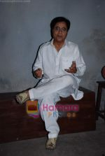 Jagjit Singh at Hoton Se Chu Lo Tum music video shoot in Filmistan on 23rd March 2009 (4).JPG