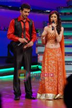 Jay Bhanushali, Saumya Tandon on the sets of Dance India Dance in Famous Studios on 23rd March 2009 (2).JPG
