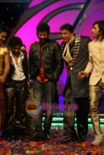 Prabhu Deva, Mithun Chakraborty on the sets of Dance India Dance in Famous Studios on 23rd March 2009 (7).JPG