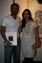 Sunil Shetty, Mana Shetty at Shobojit Kaushal art event organised by CPAA in Worli on 23rd March 2009 (33).JPG