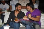 Ritesh Deshmukh and Aashish Chaudhry judge RGIT dance contest in Renaissance Club, Mumbai on 24th March 2009 (4).JPG