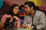 Ashutosh Rana Sakshi Tanwar in the still from movie Coffee House (3).JPG