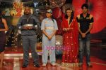 Roshni Chopra, Vinod Kambli on the sets of Comedy Circus in Andheri on 25th March 2009 (46).JPG