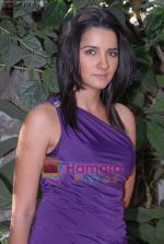 Shruthi Seth on the sets of Comedy Circus in Andheri on 25th March 2009 (3).JPG