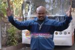 Vinod Kambli on the sets of Comedy Circus in Andheri on 25th March 2009 (6).JPG