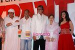 Ranjeet, Nana Patekar, Amitabh Bachchan, Farida Jalal at the launch of Mehul Kumar_s film Krantiveer in J W Marriott on 27th March 2009 (3).JPG