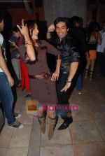 Rati Pandey, Mohit Sehgal at Miley Jab Hum Tum TV success bash for 100 episodes in RIO Cottage on 3rd April 2009 (4).JPG