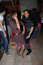 Rati Pandey, Mohit Sehgal at Miley Jab Hum Tum TV success bash for 100 episodes in RIO Cottage on 3rd April 2009 (3).JPG