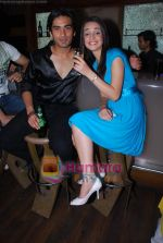 Sanaya Irani, Mohit Sehgal at Miley Jab Hum Tum TV success bash for 100 episodes in RIO Cottage on 3rd April 2009 (22).JPG