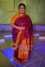Shubha Mudgal at Amul Star Voice of India on location in FilmCity on 3rd April 2009 (18).JPG