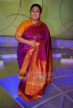Shubha Mudgal at Amul Star Voice of India on location in FilmCity on 3rd April 2009 (2).JPG