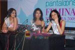 Ekta Chaudhury, Shriya Kishore, Pooja Chopra at Femina Miss India winners press meet in Sahara Star on 6th April 2009 (17).JPG