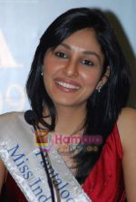 Pooja Chopra at Femina Miss India winners press meet in Sahara Star on 6th April 2009 (9).JPG