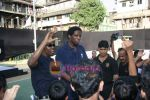 A C Green pose at opening of NBA_s basketball court in Nagpada, Mumbai on 8th April 2009 (13).JPG