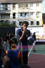 A C Green pose at opening of NBA_s basketball court in Nagpada, Mumbai on 8th April 2009 (17).JPG