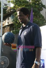 A C Green pose at opening of NBA_s basketball court in Nagpada, Mumbai on 8th April 2009 (7).JPG