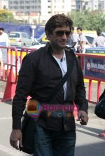 Anand Raj Anand depart for Golden temple in Domestic Airport, Mumbai on 9th April 2009 (2).JPG