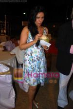 Cleo Isaacs at Viren Shah_s political theme party in Madhuli, Worli on 12th April 2009 (2).JPG