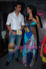 Sarvar Ahuja And Sadhika Randhawa at Meri padosan music launch in Conemax on 13th April 2009 (17).JPG
