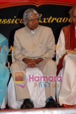 Abdul Kalam at the launch of Pt Jasraj_s Raga Symphony album in Sophia auditorium on 15th April 2009 (4).JPG
