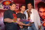 Cyrus Broacha, Boman Irani, Kunal Khemu at the Media meet of Mumbai Indians along with the cast and crew of 99 in Taj President on 15th April 2009 (4).JPG