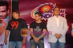 Cyrus Broacha, Boman Irani, Kunal Khemu at the Media meet of Mumbai Indians along with the cast and crew of 99 in Taj President on 15th April 2009 (8).JPG