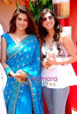 Hridaya Redkar and Manika Thanda at the launch of film Ek Cutting Chai in Shubham Villa, Mudh Island on 18th April 2009 (3).JPG