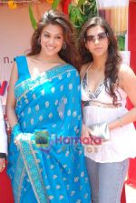 Hridaya Redkar and Manika Thanda at the launch of film Ek Cutting Chai in Shubham Villa, Mudh Island on 18th April 2009 (45).JPG