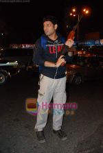 Kasab on location of film Total Ten in Chowpatty on 22nd April 2009 (15).JPG
