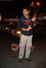 Kasab on location of film Total Ten in Chowpatty on 22nd April 2009 (16).JPG