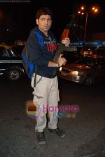 Kasab on location of film Total Ten in Chowpatty on 22nd April 2009 (14).JPG